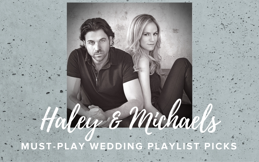 Country music stars haley amp michaels share the perfect wedding