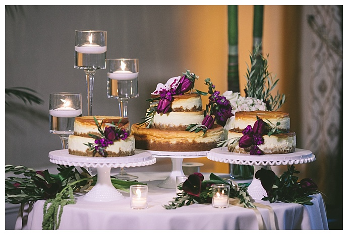 Naked Deconstructed Wedding Cake