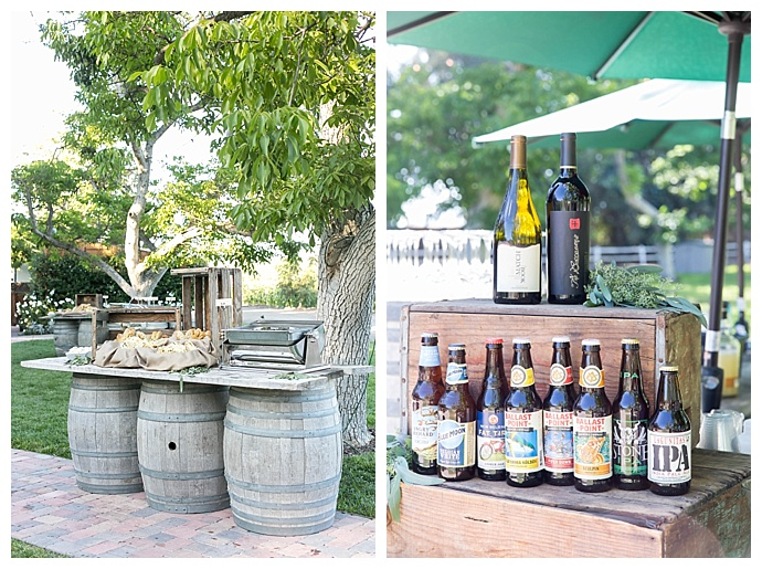 rustic-reception-decor-wine-barrels-maya-meyers-photography