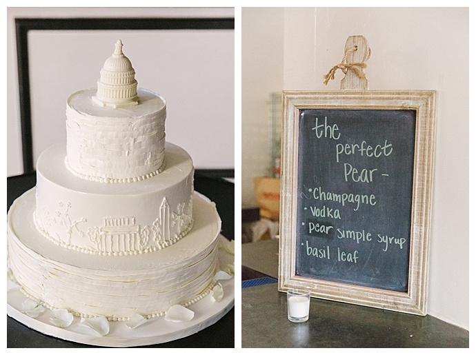 signature-wedding-drinks-washington-dc-themed-cake-kerry-renne-photography