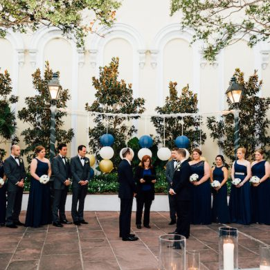 Bow Tie Themed Wedding in New Orleans