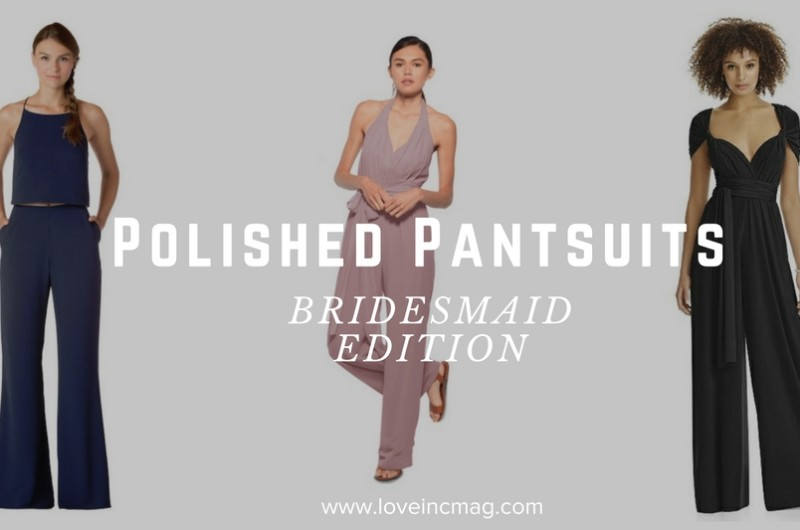 Image for 9 Polished Pantsuits to Elevate Your Wedding Party's Style