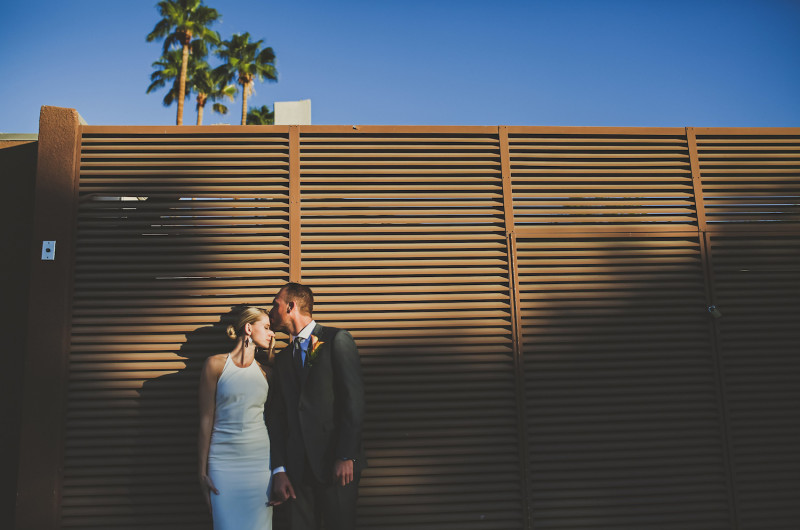 Image for Chris and Alison's Modern Palm Springs Wedding at Ace Hotel