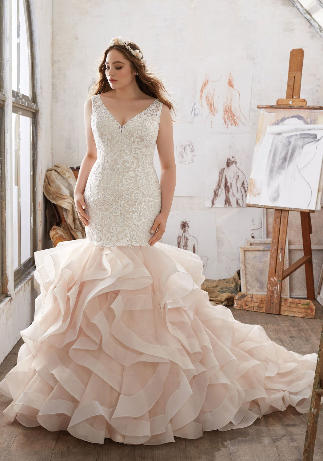 mori-lee-plus-size-wedding-dress-mermaid