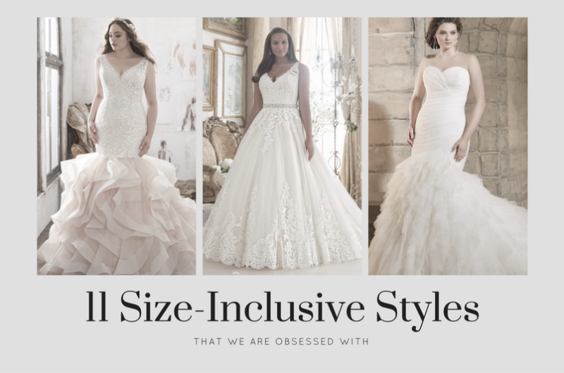 Image for 11 Designer Wedding Dresses in Extended Sizes that We're Obsessed With