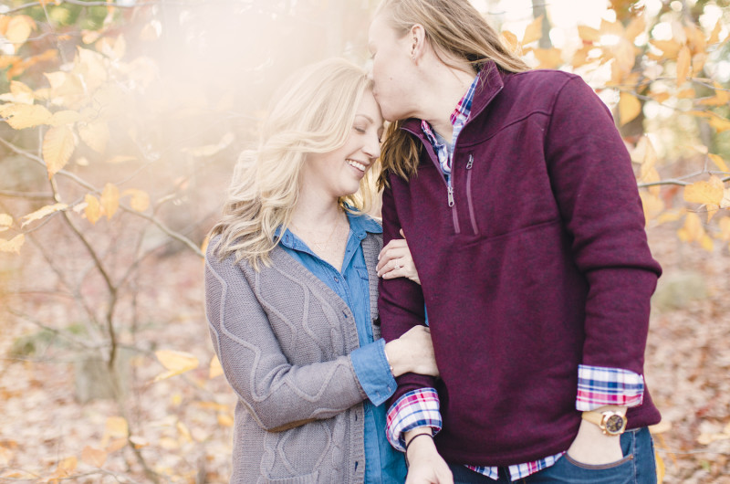 Image for Stephanie and Sabrina's Cozy Connecticut Engagement Shoot