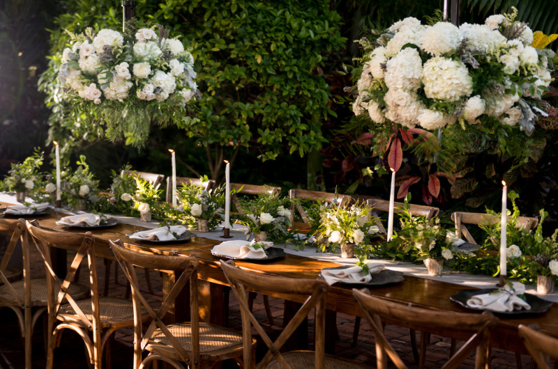 Image for Luxe Green and White Garden Wedding Inspiration
