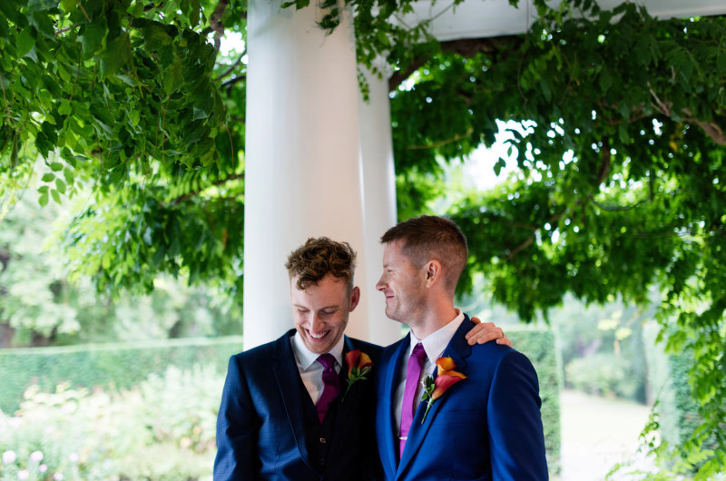 Image for Callum and Adam's Bright and Beautiful London Wedding
