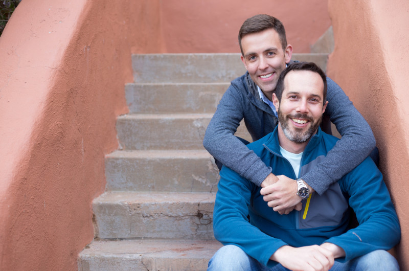 Image for Dave and Jeremy's Relaxed Red Rocks Engagement Session