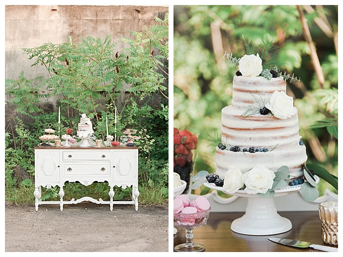 sheer-naked-cake-vintage-cake-table-display-britani-edwards-photography