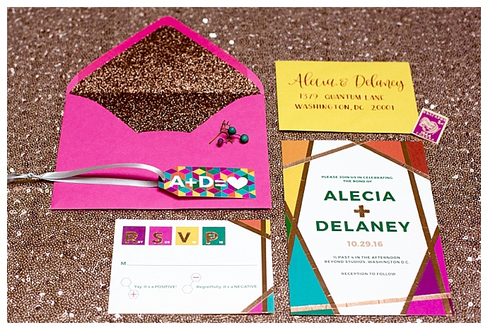 colorful-geometric-wedding-invitation-suite-risa-horn-photography