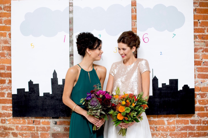 Image for A Vibrant Geek-Chic Styled Shoot in Celebration of Equality