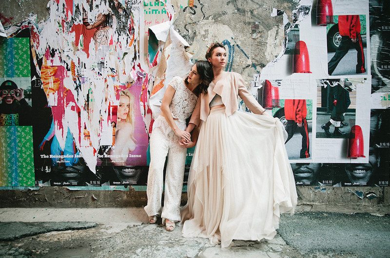 Image for Edgy, Urban Wedding Inspiration Shoot