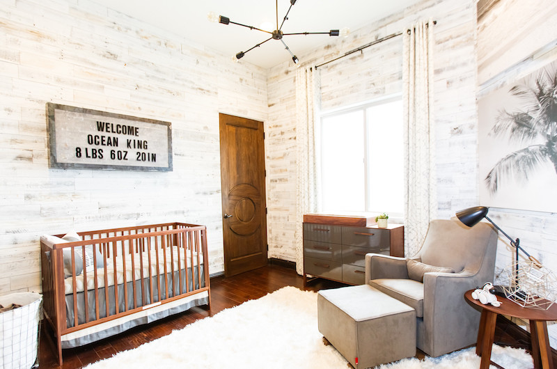 Image for A Nursery Tour with an Industrial Beach Vibe