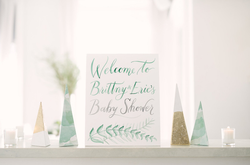 Image for Brittny and Eric's Greenery-Filled Unisex Baby Shower