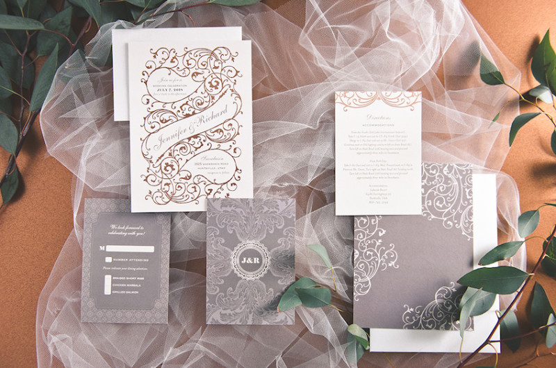 Image for Creative Envelope Styles to Inspire Your Hand Lettered Wedding Invitations