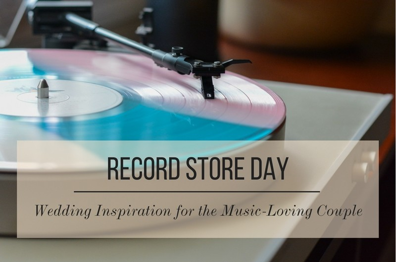 Image for Vinyl Wedding Inspiration in Honor of Record Store Day