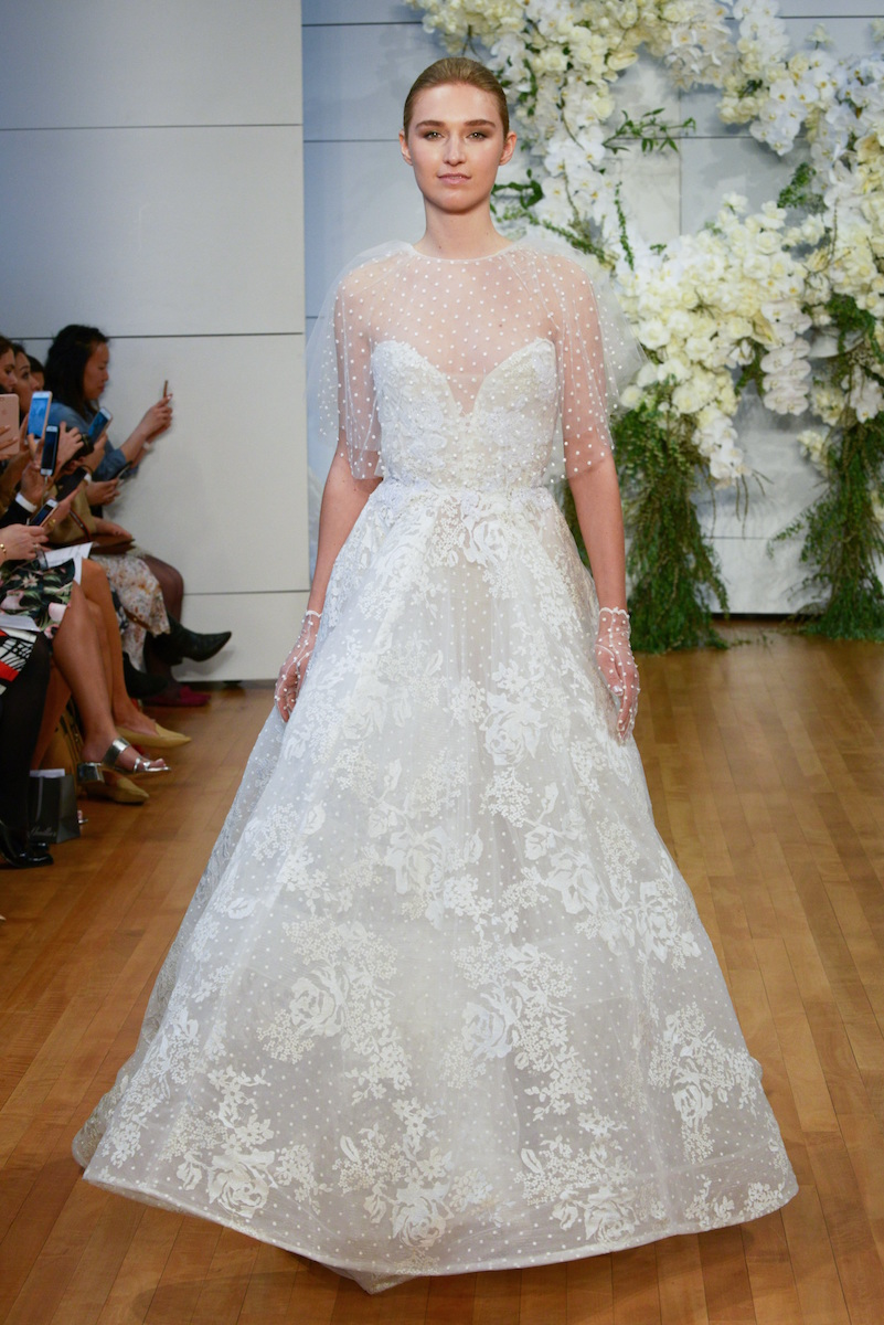 Spring 2018 Bridal Fashion Week Trends From The Runway