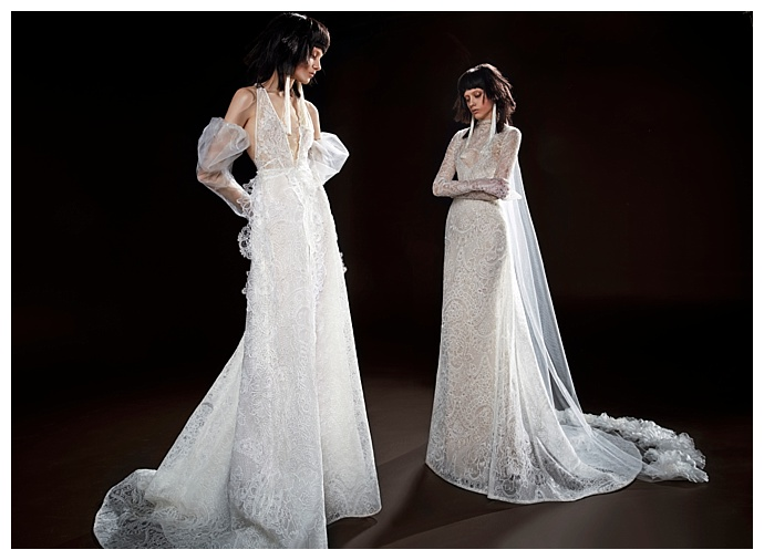 Celestine and Cecile Dresses by Vera Wang Bridal