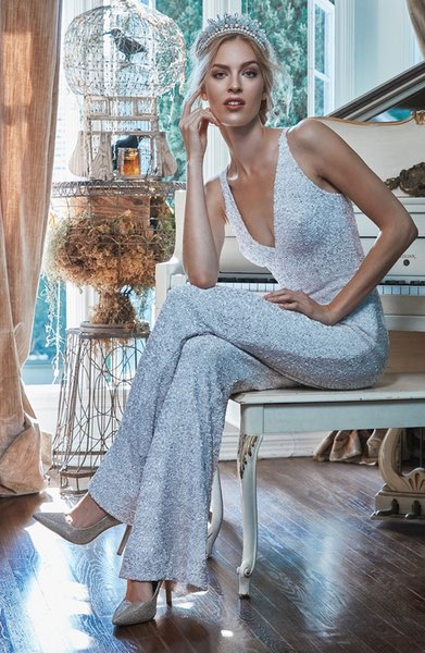 charlie-sequin-jumpsuit-nordstrom-reception-outfit