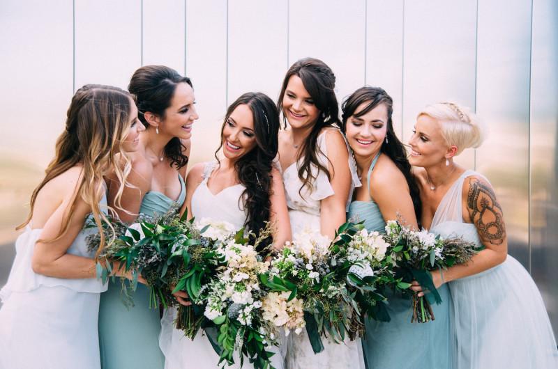 Image for Lush Green and Gray Wedding Inspiration