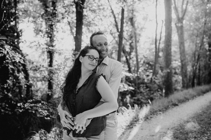 Image for Chiara and Nicola's Sentimental Venetian Countryside Engagement