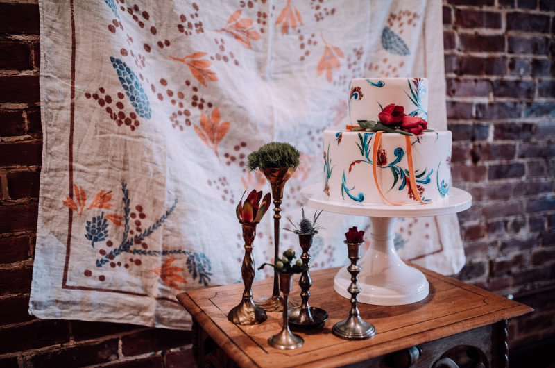 Image for Jazzy and Modern Bohemian Wedding Inspiration