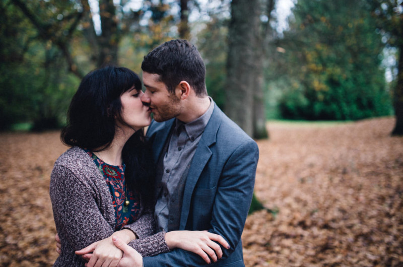 Image for Brittany and Sean's Woodland Adventure Engagement Shoot
