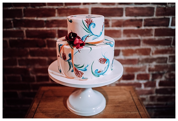 hand-painted-bohemian-wedding-cake-brittany-eitsert-photography