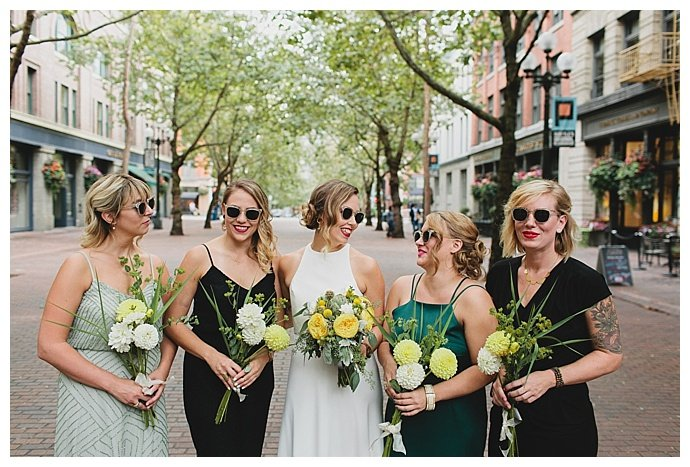 kendall-lauren-photography-yellow-bridal-bouquets