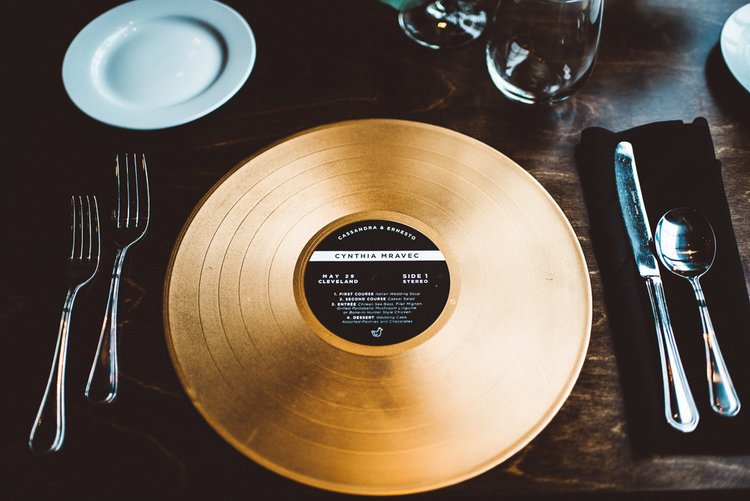 Vinyl Wedding Inspiration In Honor Of Record Store Day