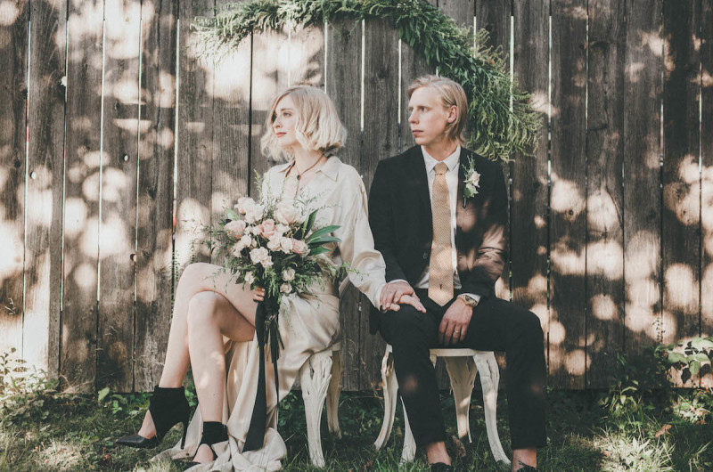 Image for A Romantically Intimate Styled Elopement in the Woods