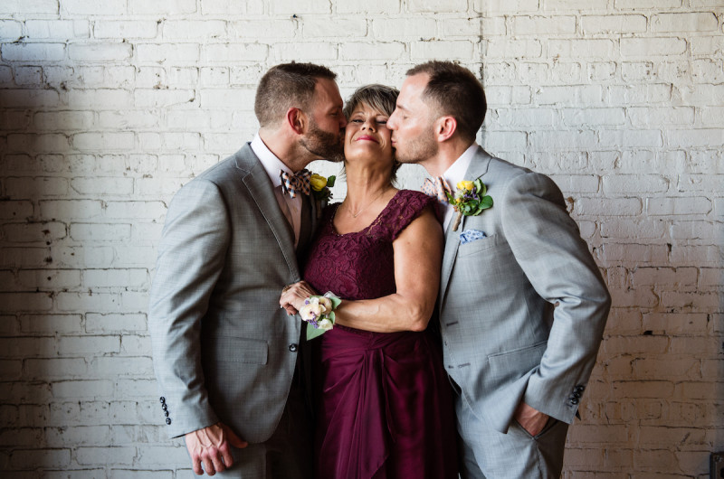 Image for 7 Heartwarming Wedding Pictures with Mom to Celebrate Mother's Day