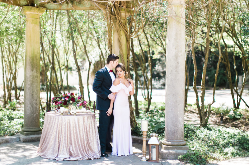 Image for Romantic Blush and Burgundy Wedding Inspiration