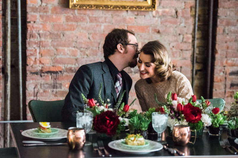 Image for A Romantic City Hall Styled Elopement with Vintage Details