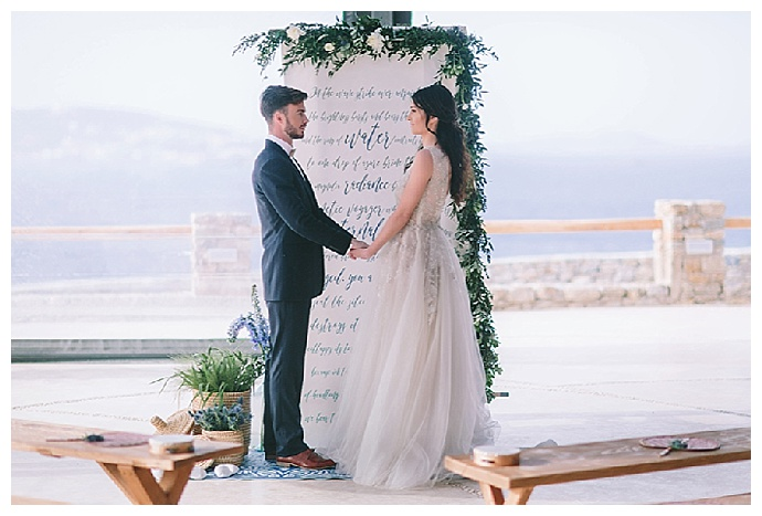 george-pahountis-photographer-calligraphy-greenery-ceremony-backdrop