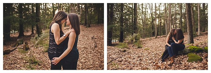 jacqie-q-photography-maryland-forest-engagement-shoot