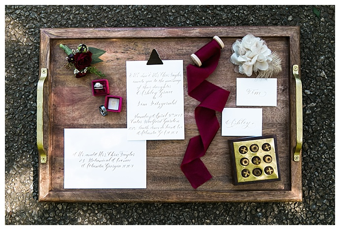 styled-calligraphy-wedding-invitation-shot-macy-oconnell-photography