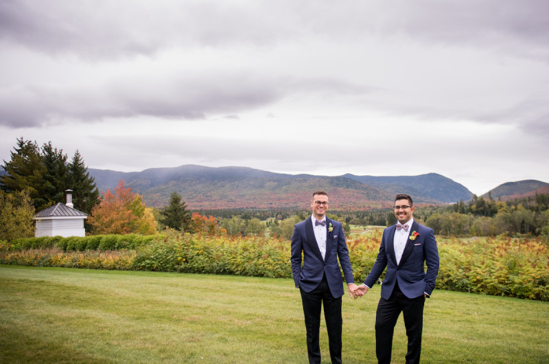 Image for Kyle and Kevin's Fall New Hampshire Wedding