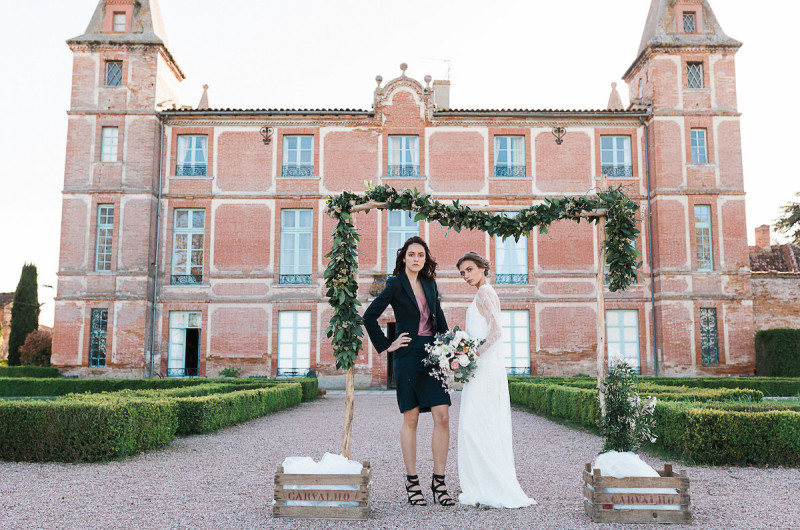 Image for Romantic French Chateau Wedding Inspiration