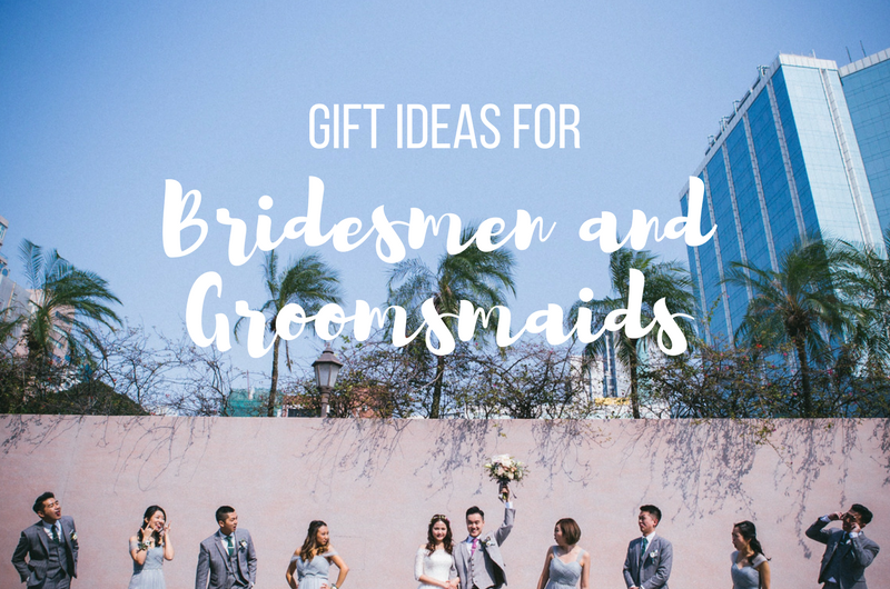 Image for 12 Inclusive Gift Ideas for Bridesman and Groomsmaid Proposals