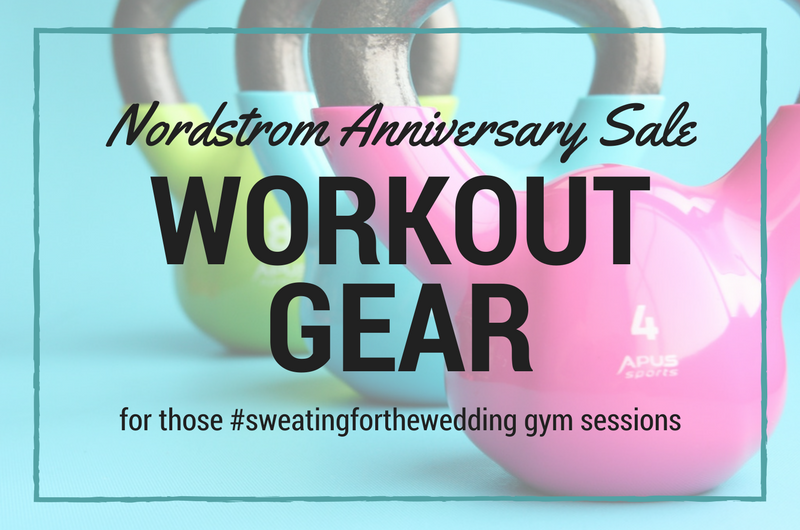 Image for Sweating for the Wedding: Workout Gear to Add to Your Gym Bag