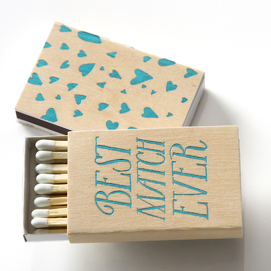 best-match-ever-wedding-favor-matchbook