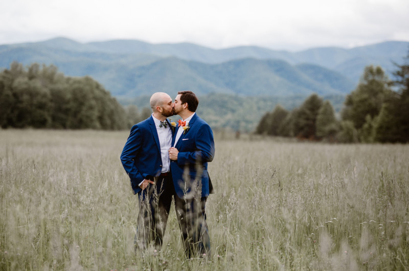 Image for Ryan and Jason's Great Smoky Mountains Elopement