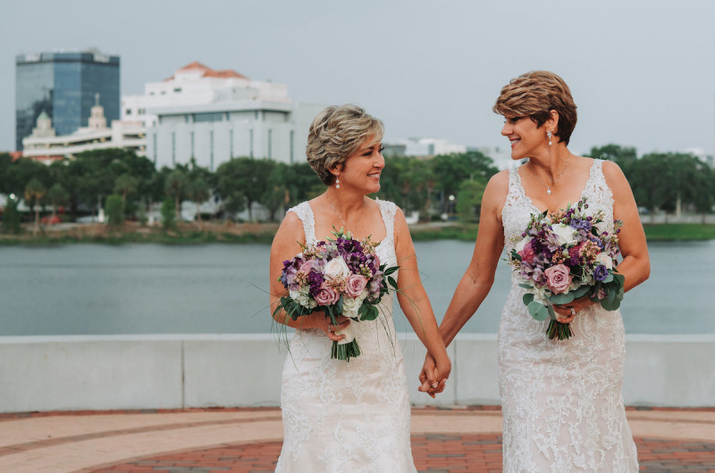 Image for Bobbie and Tracy's Romantic St. Petersburg Wedding