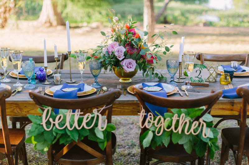 Image for Bright and Luscious Tropical Texas Wedding Inspiration