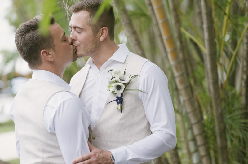 Image for Jim and Rickey's Beach-Themed Destination Wedding