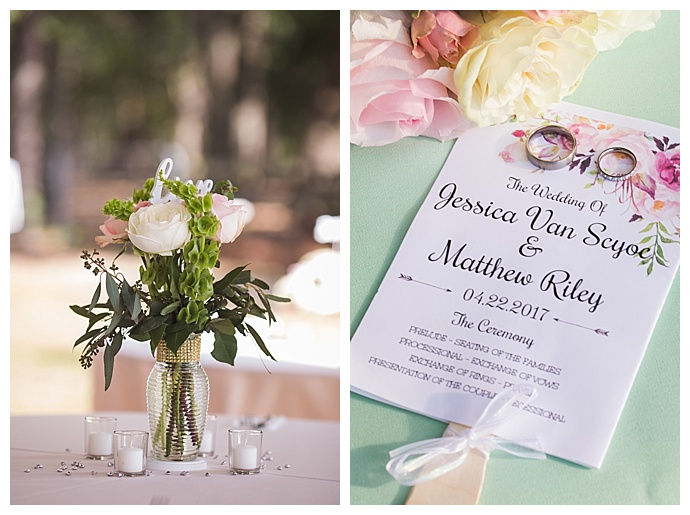 floral-ceremony-program-cory-lee-photography