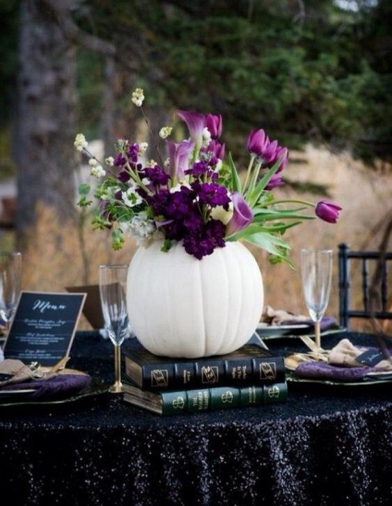 Creative pumpkin wedding ideas for fall weddings love