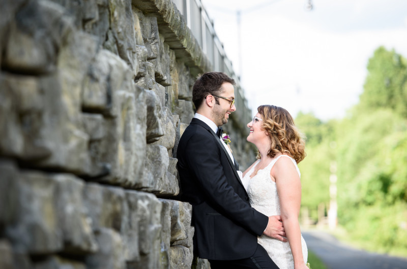 Image for Mark and Marissa's Celestial-Inspired Wedding with Star Trek Details
